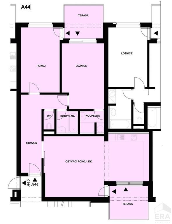 Prodej bytu 3kk ve Strakonicích v novostavbě