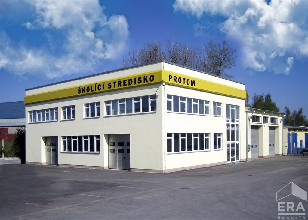 Pronájem velkých kancelářských, školících, výrobních prostor  Strakonice, ul. Písecká