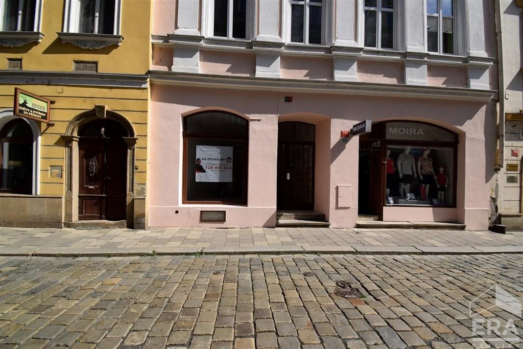 Pronájem obchodních prostor v centru Olomouce