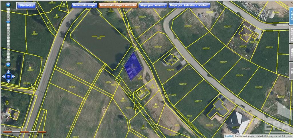 Prodej pozemku v obci Zruč – Senec