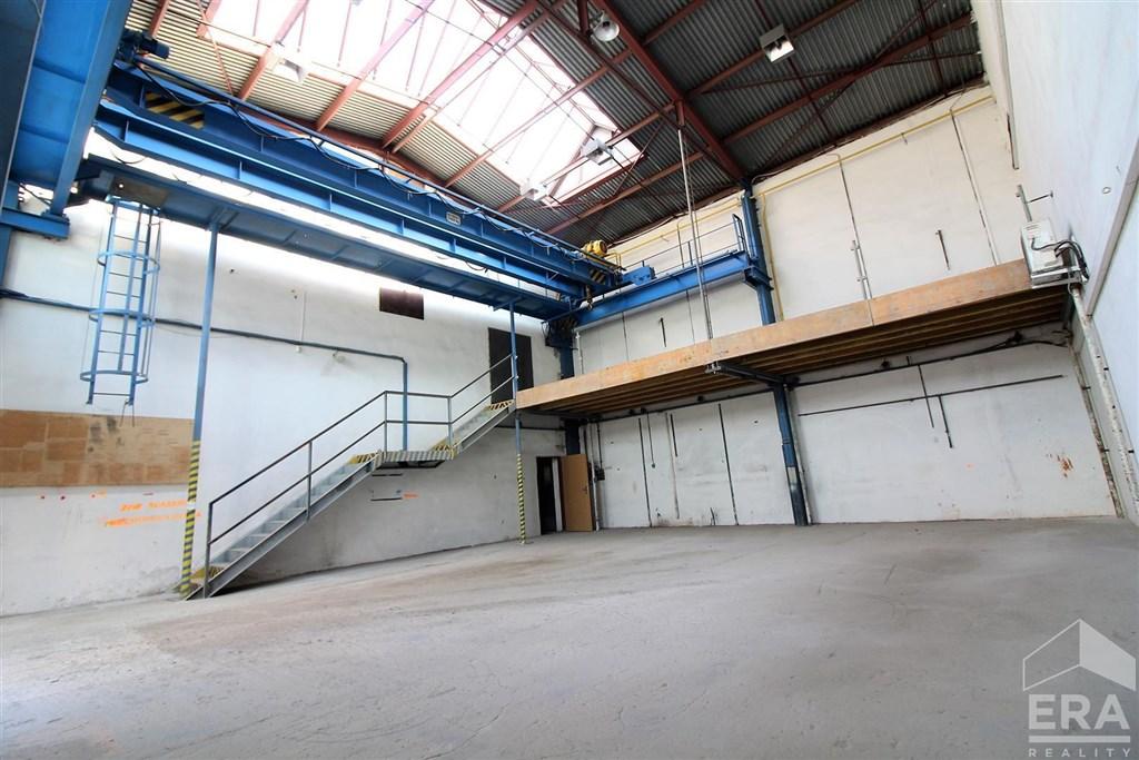 Pronájem výrobní haly v areálu Brno-Černovice, ul. Vinohradská 74