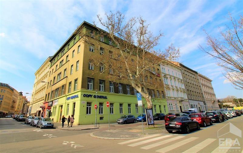 Pronájem kanceláře 18,6m2, Dvořákova 13, Brno