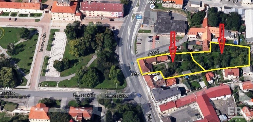 PRODÁNO – Prodej RD/Zemědělská usedlost L.P. 1606, pozemek o celkové ploše 3068m2, Hostivice – okres Praha západ