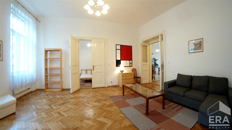 Pronájem bytu 4+1, 150 m2, Vinohradská 32, Praha 2