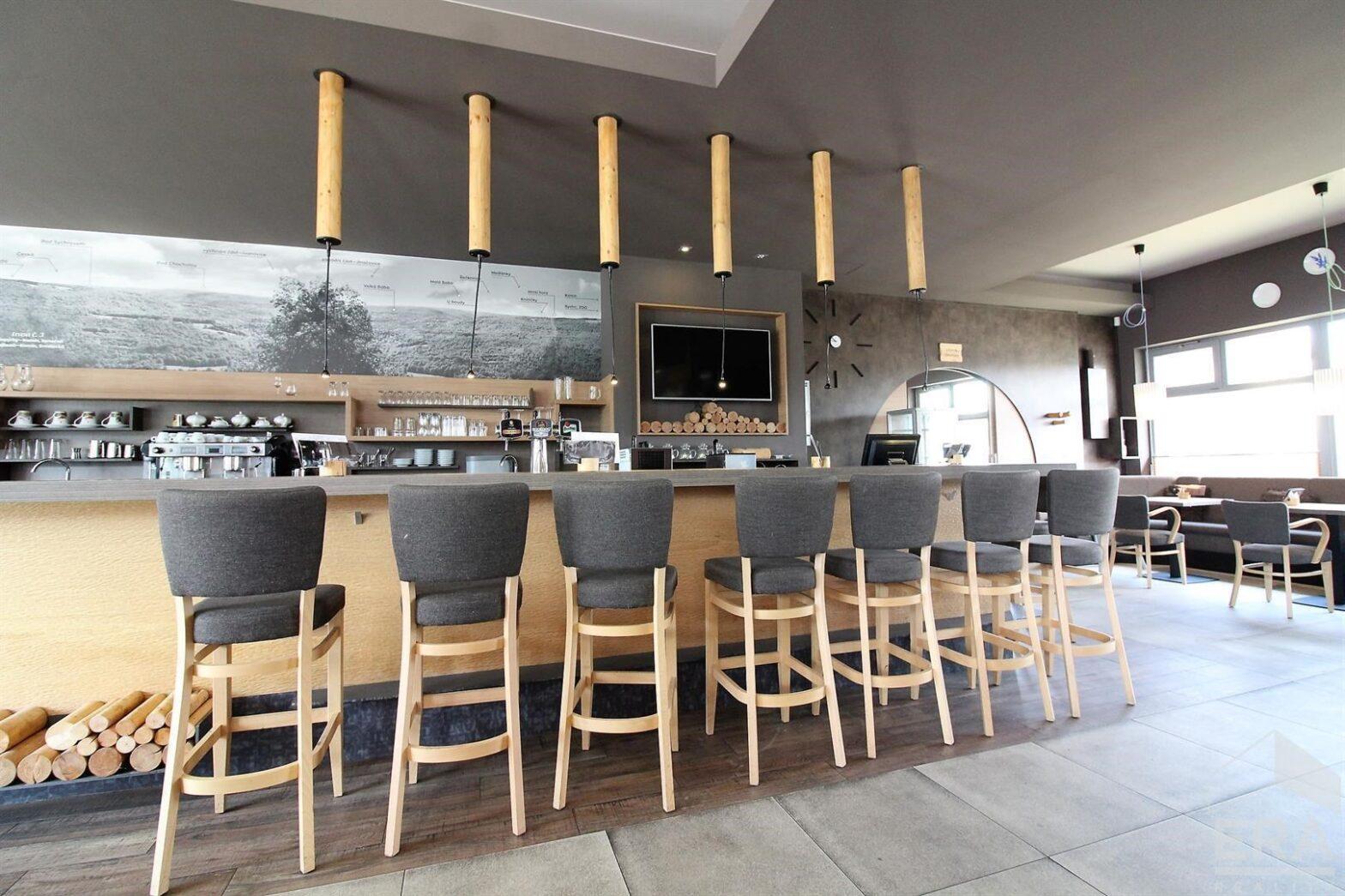Pronájem restaurace, kavárny – 230m2, Tyršova, Kuřim
