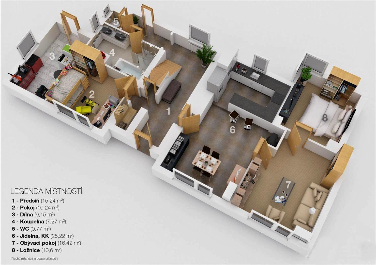 Prodej rodinného domu 4 + KK po rekonstrukci v Deblíně