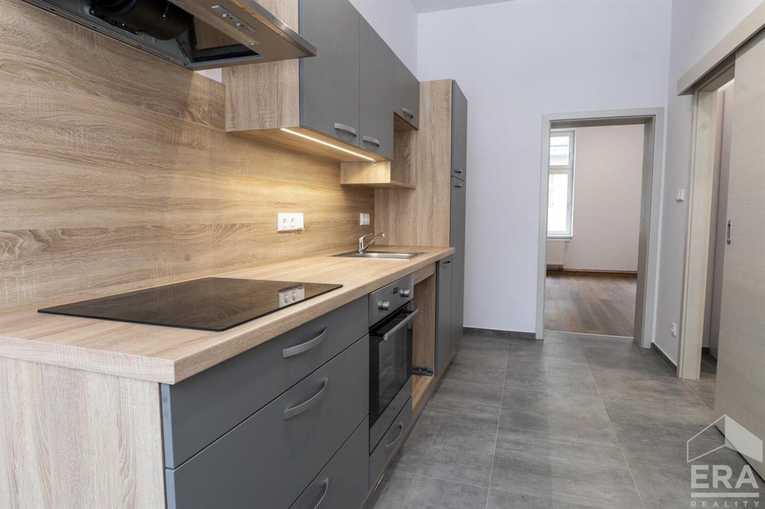 Pronájem nového bytu 1+1 v centru Jablonce nad Nisou