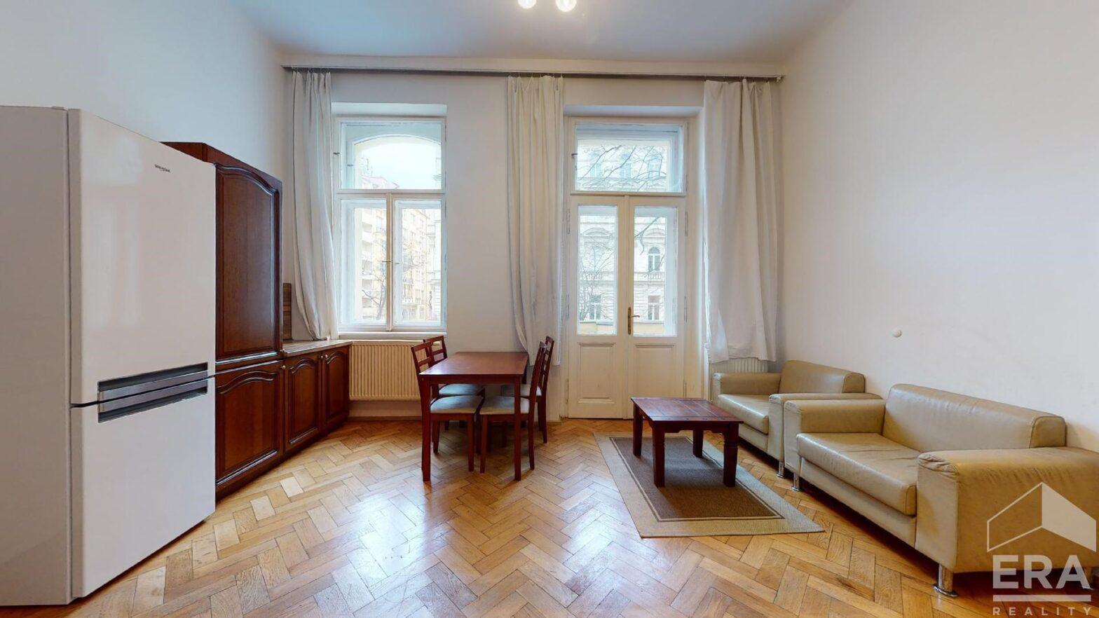 Pronájem bytu 3+kk, 70 m2, v ul. Vinohradská, Praha 2.