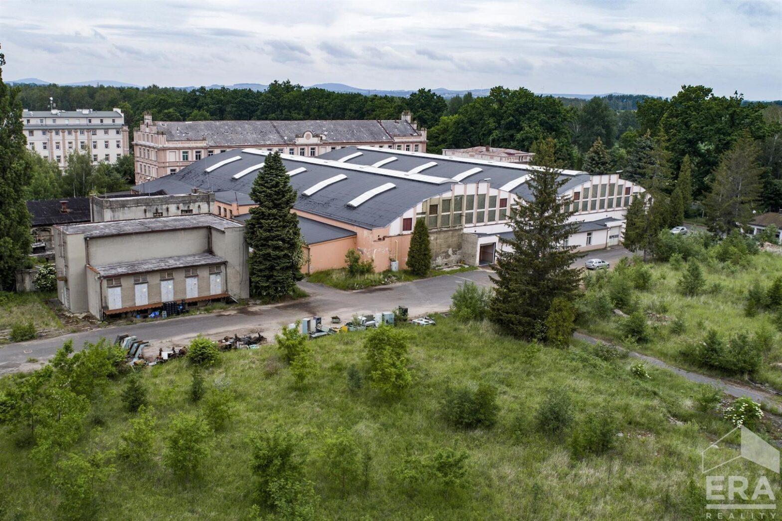 Prodej stavebního pozemku pro komerční využití, cca 6000 m2, Hrádek nad Nisou