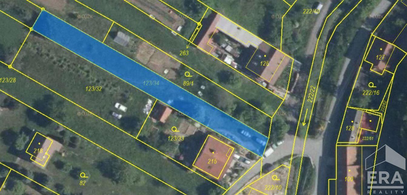 Prodej stavebního pozemku Sudice u Náměště nad Oslavou