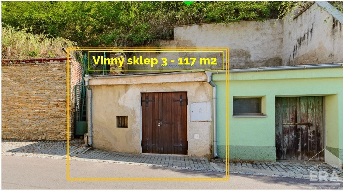 Vinný sklep 3, UP 117 m2 na pozemku 108 m2 * Znojmo