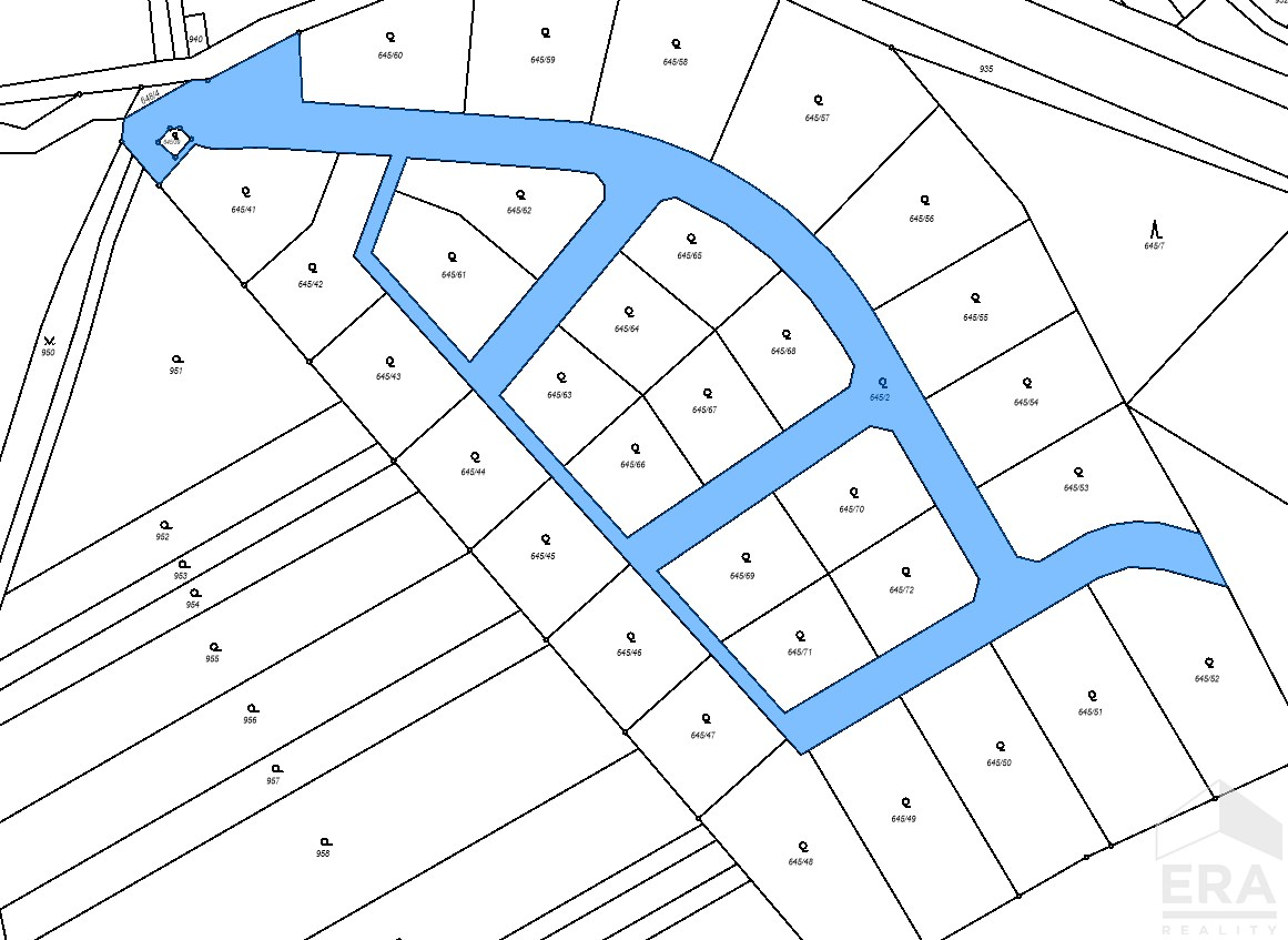 Prodej developerského projektu Otrokovice-Zlín, se Stavebním povolením, pro zasíťování 27 či 32 parcel pro RD.