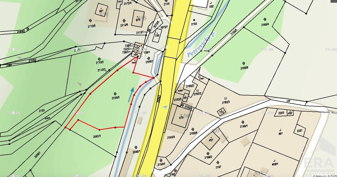 Prodej stavebních pozemků 4225 m²