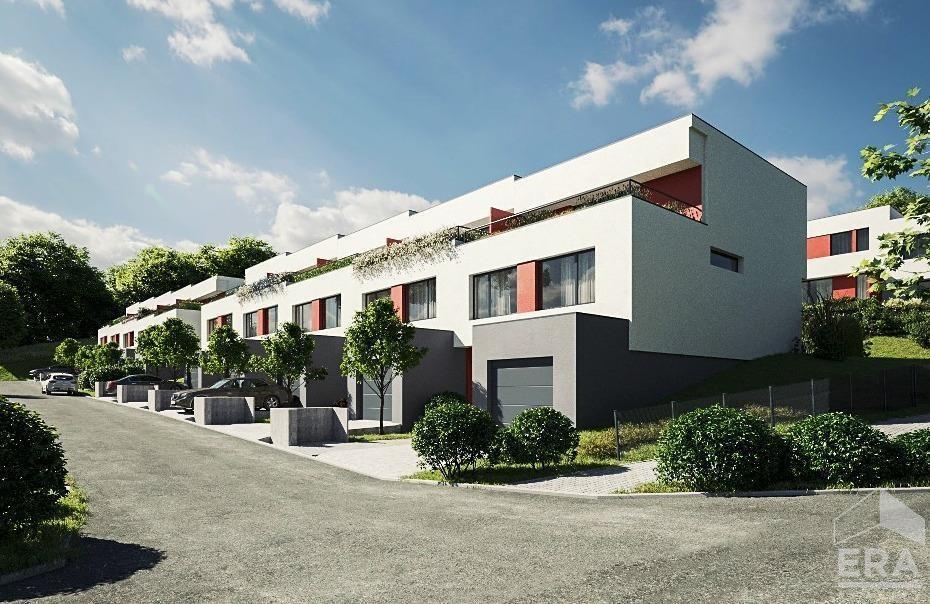 Prodej řadového domu (RD39) 5+KK 162m2, pozemek 327m2 v Berouně