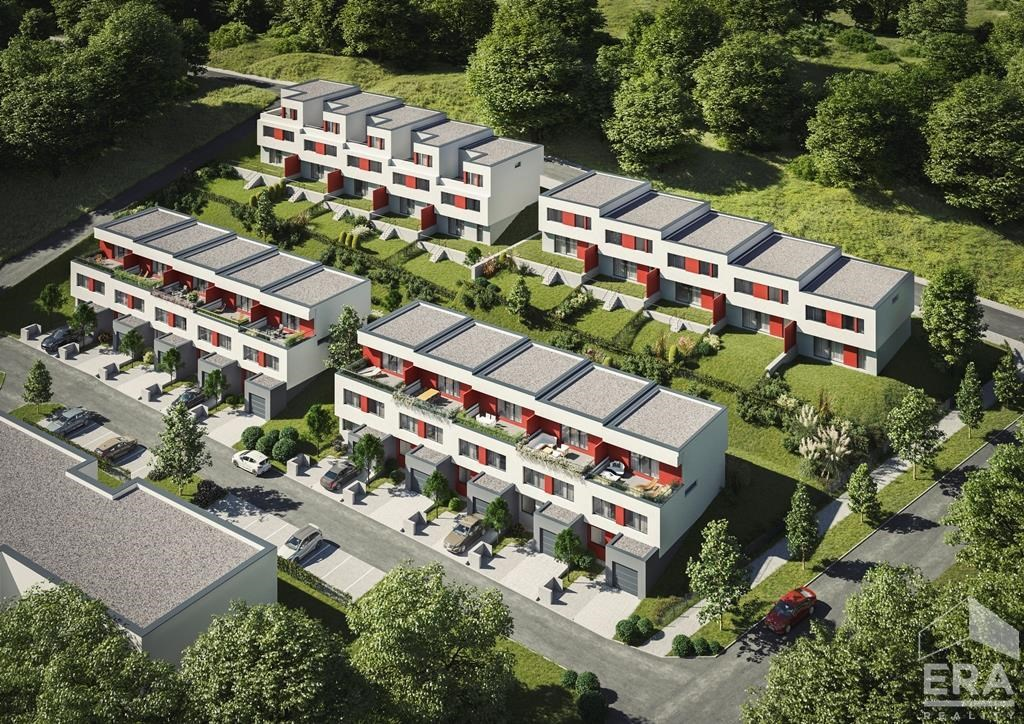 Prodej řadového domu (RD27) 6+KK 190m2, pozemek 240m2 v Berouně