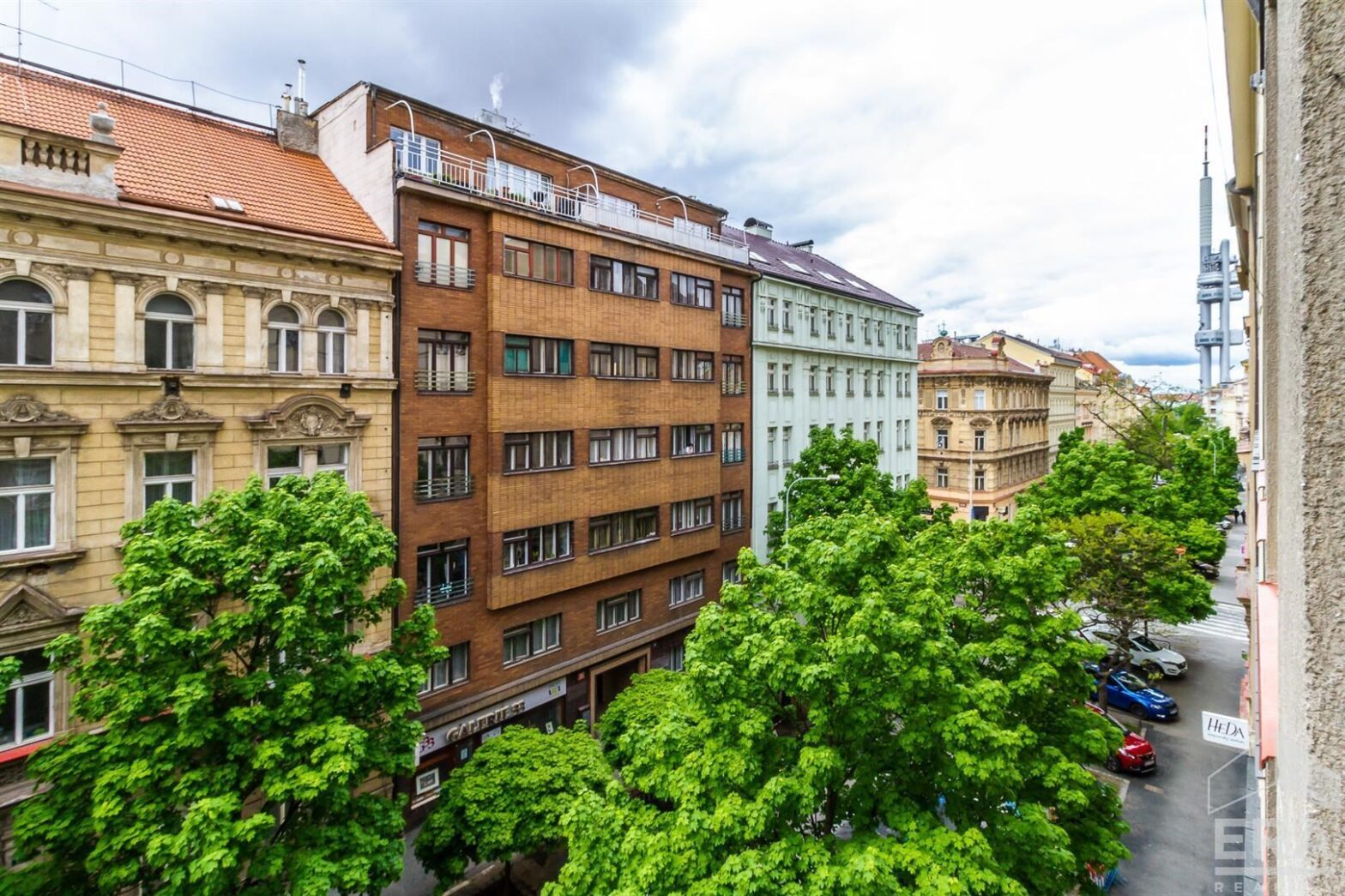 Pronájem bytu 2+1, 70 m2, Praha 3 Vinohrady