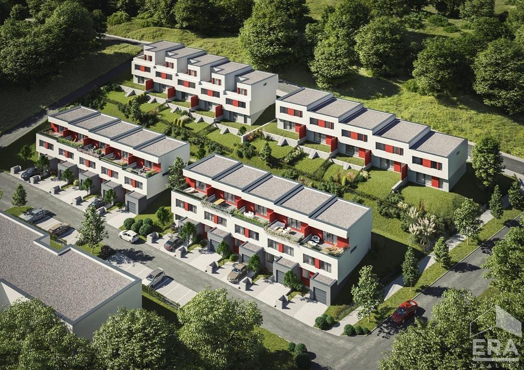 Prodej řadového domu (RD25) 6+KK 190m2, pozemek 340m2 v Berouně