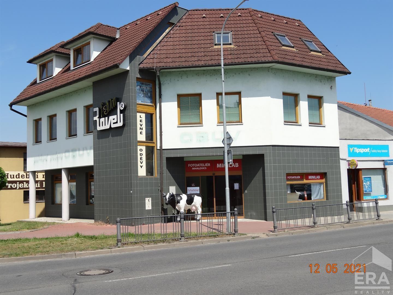 Prodej polyfunkčního domu v centru Veselí nad Moravou